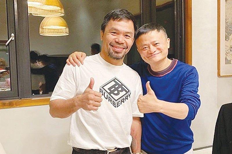 Pacquiao, Jack Ma Foundation magdo-donate ng 50,000 COVID-19 testing kits