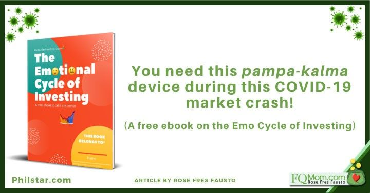 You need this pampa-kalma device during this COVID-19 market crash! (A free ebook on the Emo Cycle of Investing)
