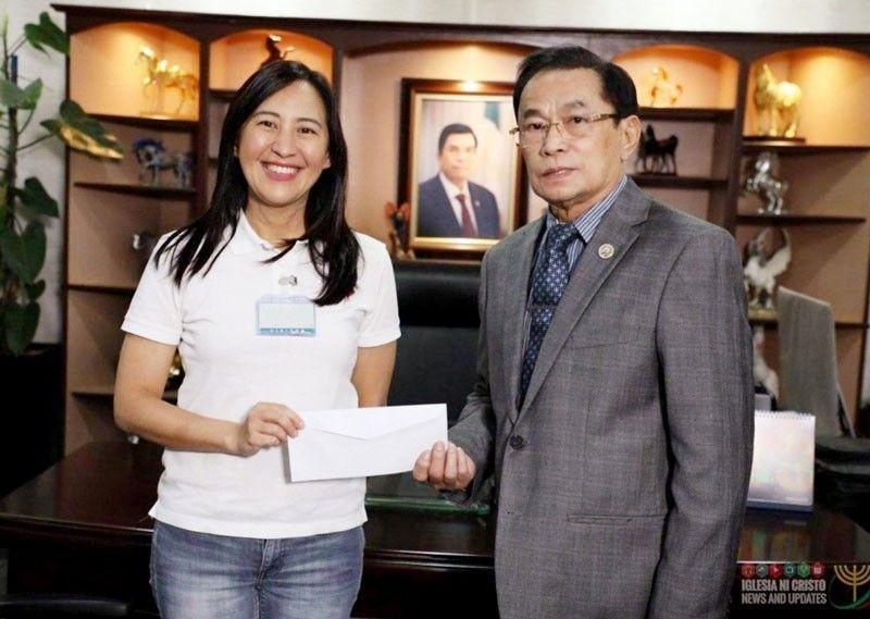 Iglesia ni Cristo donates P5 million to Quezon City vs COVID