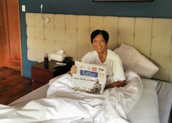 Bongbong Marcos' family, staff take COVID-19 tests which turn out negative
