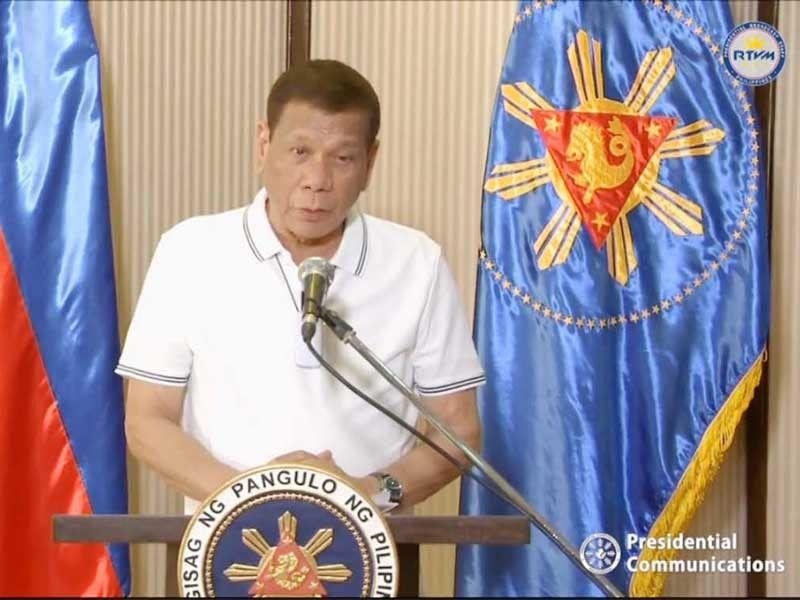Duterte urged to walk back 'shoot them dead' remark