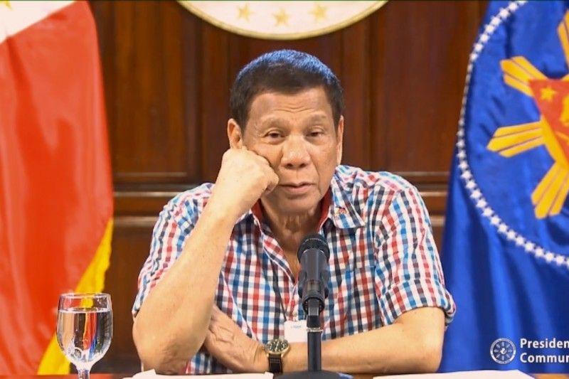 Duterte asks public for 'discipline' in following quarantine rules