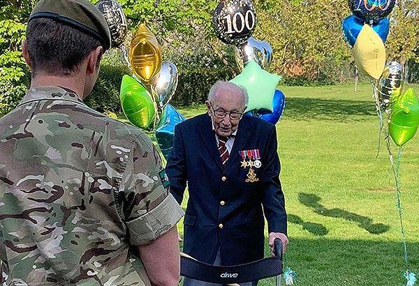 WWII hero, 99, raises £13M for hero frontliners fighting COVID-19