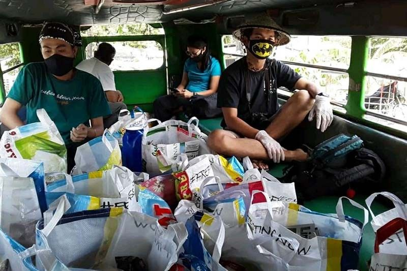 'Critical but not seditious,' journalist, artists say of papers in halted Bulacan relief drive