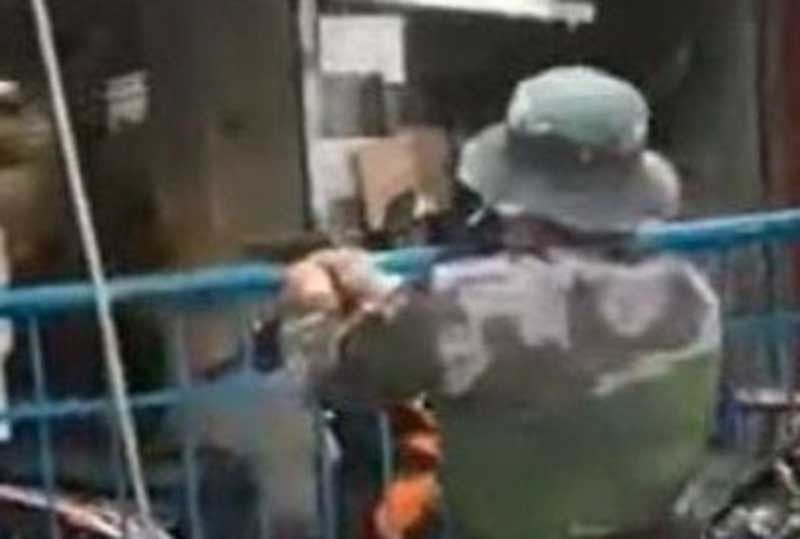 Quezon City cop shoots 'mentally challenged' quarantine violator