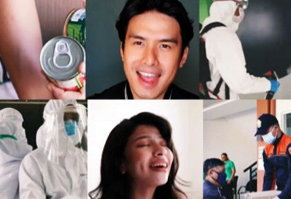 Christian Bautista, Janine Teñoso pay tribute to COVID-19 frontliners, video to benefit Red Cross