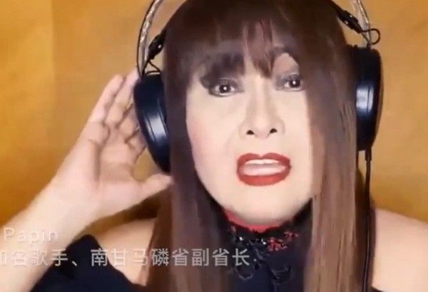 'For love and unity': Imelda Papin on her participation in Philippines-China music video
