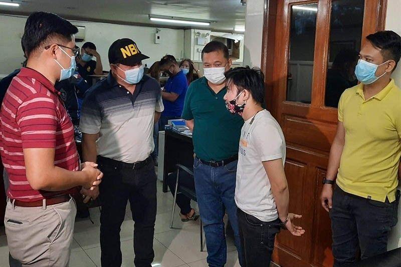 Teacher arrested for Duterte slay offer freed on bail