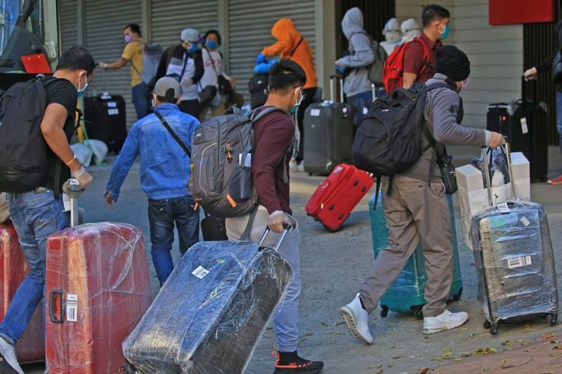 500 OFWs test positive for COVID; 14,669 cleared