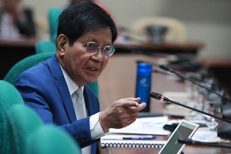 Lacson flags 'pattern' of DOH buying higher-priced equipment vs COVID-19