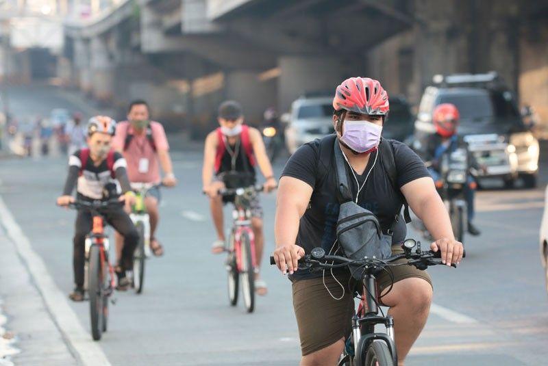 MMDA backs elevated over �pop-up� bike lanes