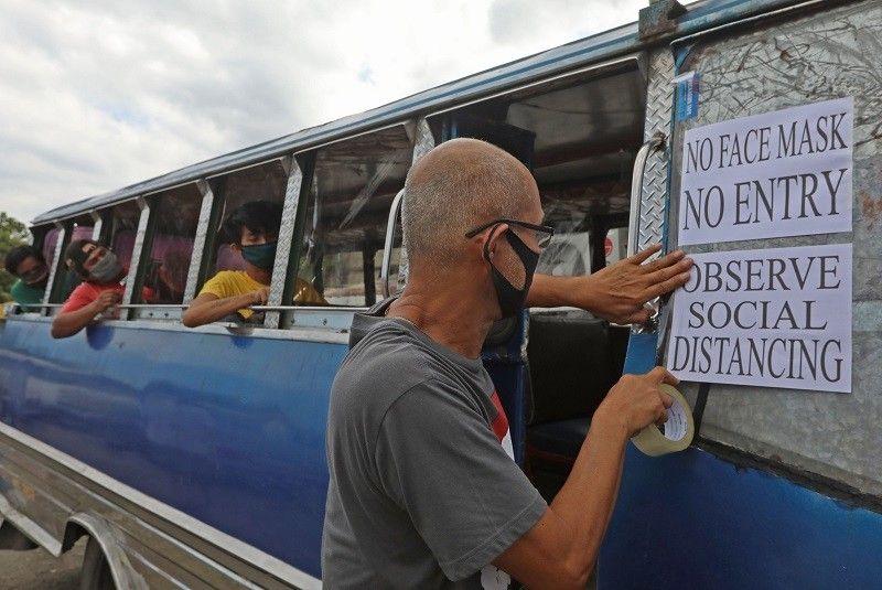 Regular na bus, jeep 'bawal' pa ring pumasada kahit mag-GCQ sa Metro Manila