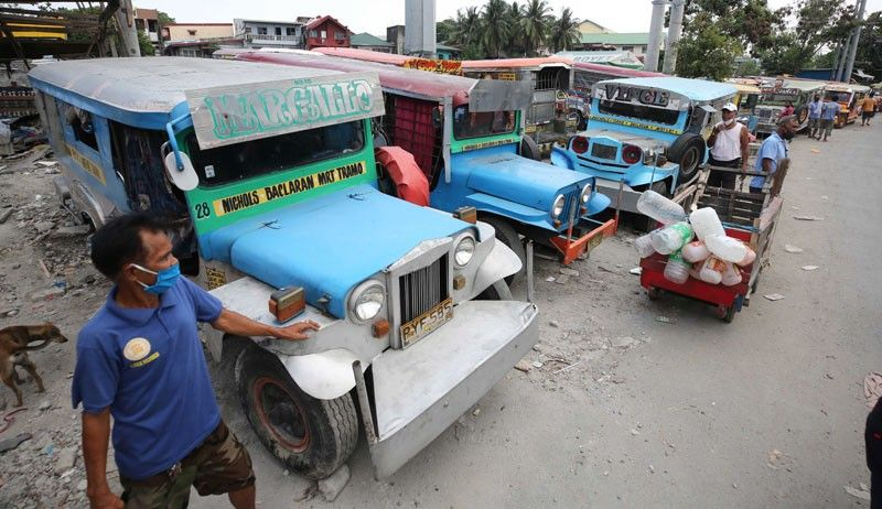 Jeepney drivers eyed as contact tracers