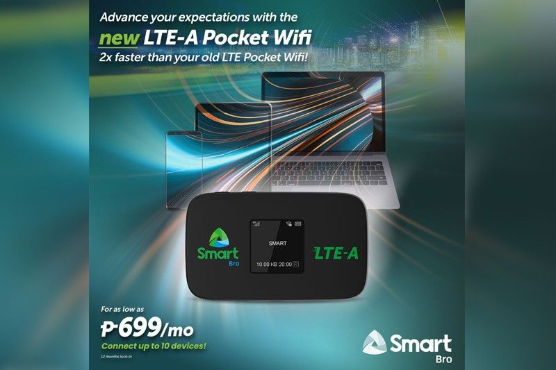 Smart launches new LTE-Advanced Pocket WiFi Plans starting at P699 per month