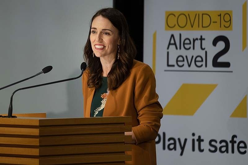 Ardern wins landslide in New Zealand election