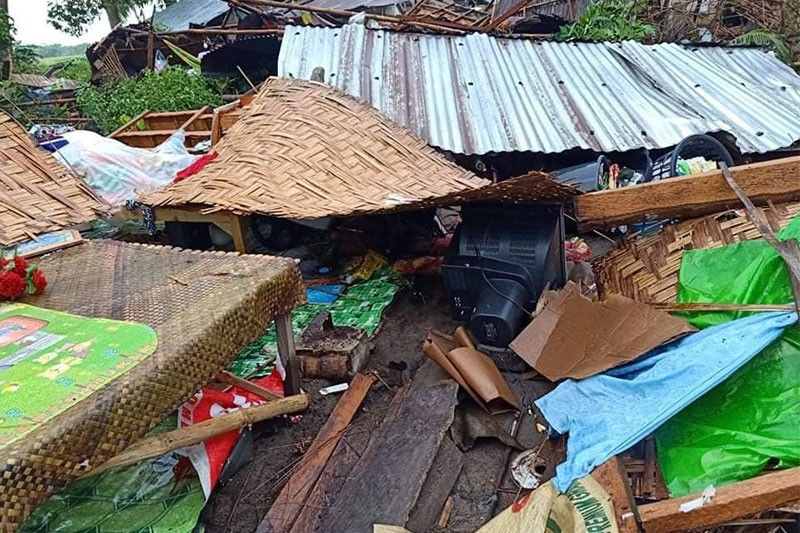 Tornado hits Sultan Kudarat town, dozens of houses damaged