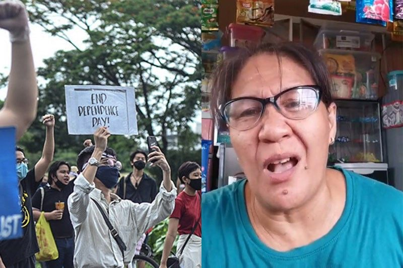 �Mockingjay� Aling Marie leads masses against anti-terror bill at �Grand Mañanita'