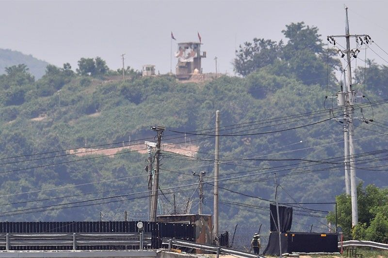 North Korea blows up inter-Korean liaison office near border with South