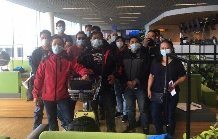 DFA repatriates 13 seafarers stranded in Amsterdam