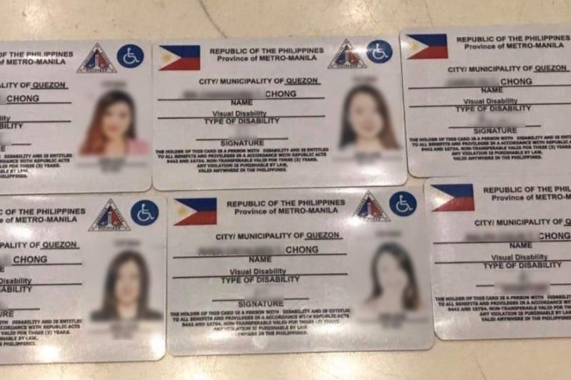 QC government: No forms, records for family PWD cards in viral photo