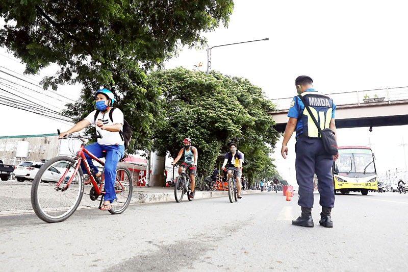 MMDA backpedals on pop-up bike lanes