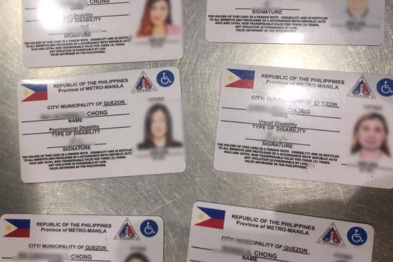 Family with six PWD cards invited to House hearing, asked to cooperate with QC legal
