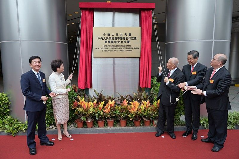 China opens Hong Kong headquarters for its secret police