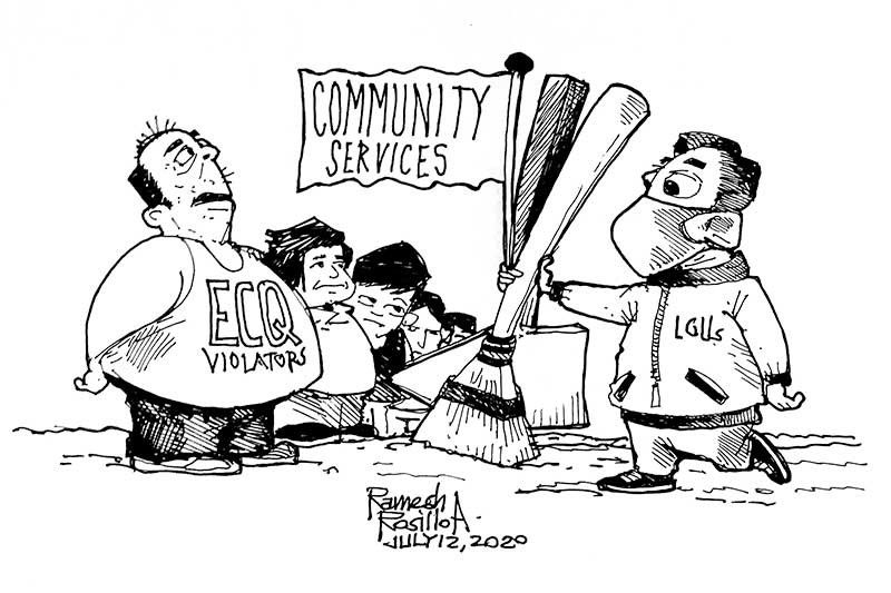 EDITORIAL - Yes, why not community service?