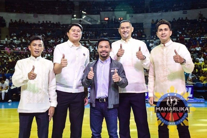 Pacquiao's MPBL moves on from ABS-CBN, looks for new TV home