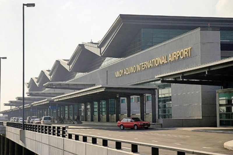 NAIA-3 ceiling collapses