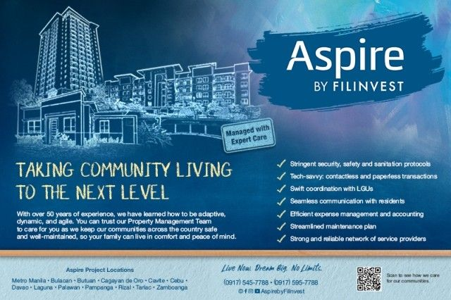 Caring for Aspire communities the Filinvest way