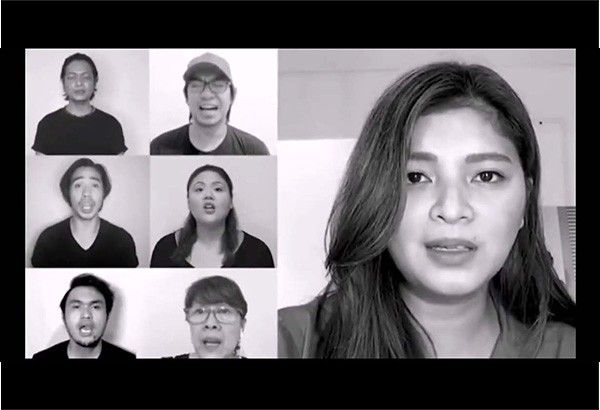 Angel Locsin, all-star cast premiere Filipino 'Les Mis' song at 'alternative' SONA 2020
