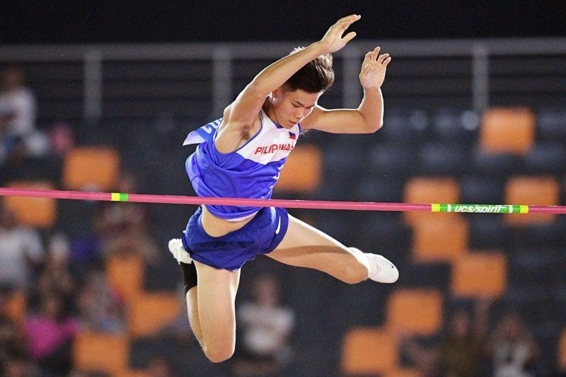 Olympian Obiena to take part in online pole vault competition