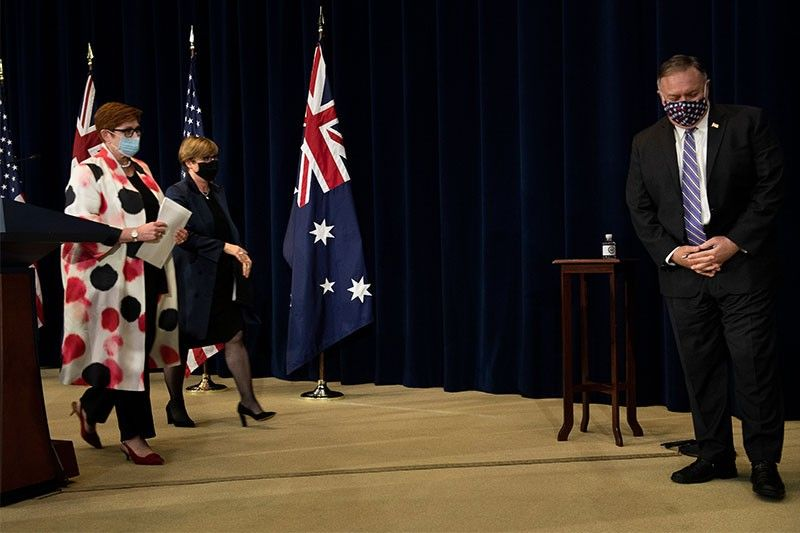 Australia backs US, affirms Philippines' South China Sea arbitral win
