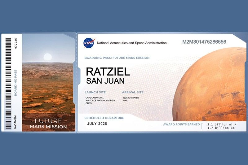 'May ganun, Mars': Philippines leads names submissions for future Mars mission