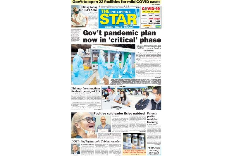 The STAR Cover (July 31, 2020)