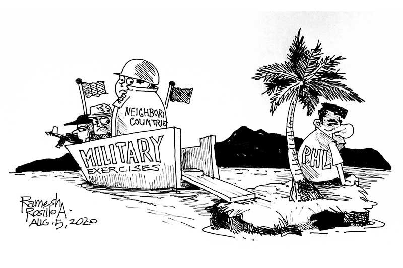 EDITORIAL - We need not go to war to assert our claims