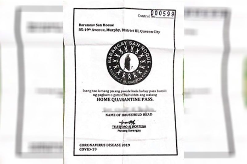 LGUs urged to go house-to-house for passes