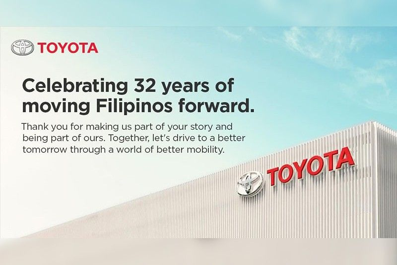 Toyota reaffirms partnership with Filipinos, celebrates 32 years in the Philippines