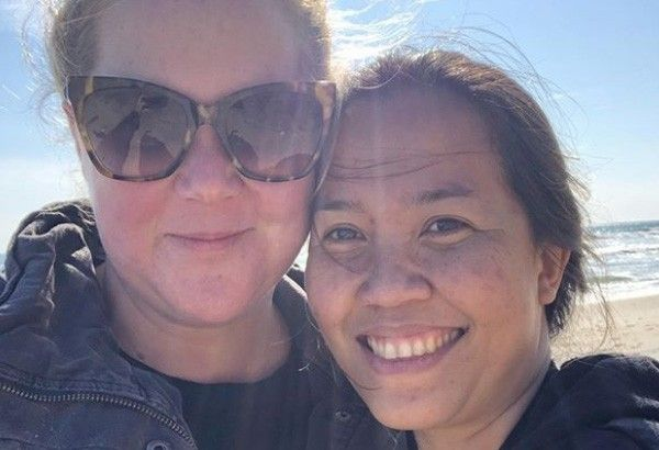 Hollywood star Amy Schumer shares Emmy nomination with Pinay nanny