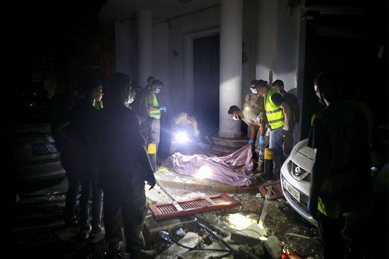 2 Pinoy patay sa pagsabog sa Beirut, Lebanon; 6 iba sugatan