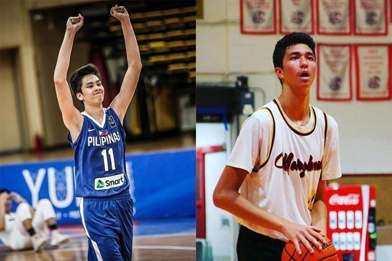 Sage Tolentino officially a part of East West Private with Kai Sotto