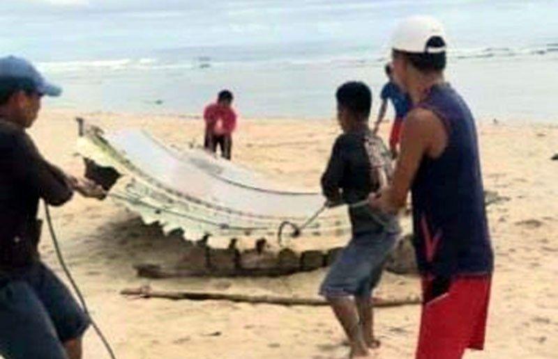 Aircraft debris found in Eastern Samar