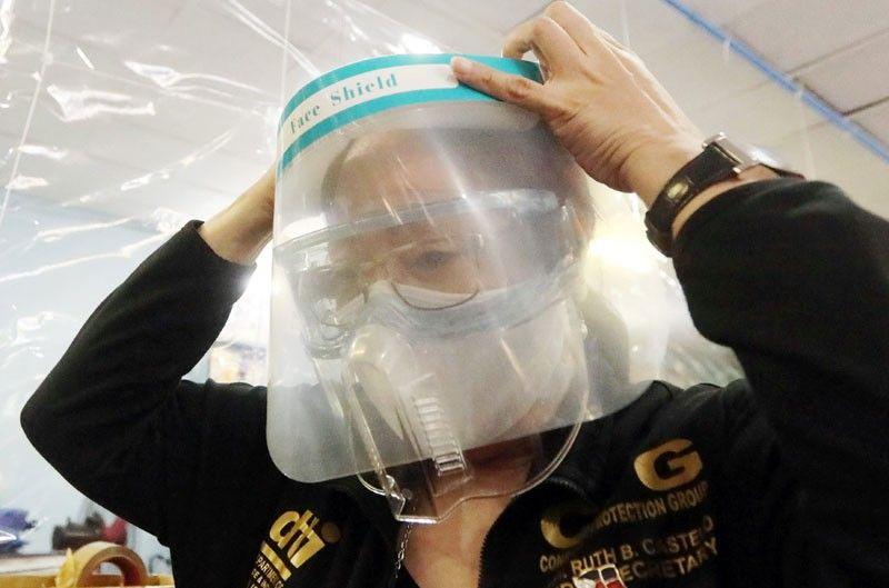 DOLE orders all workers to wear face shields