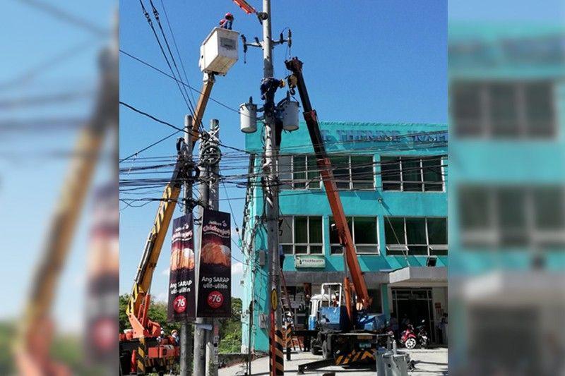 Meralco keeps lights on for dialysis center of Angono-Binangonan residents