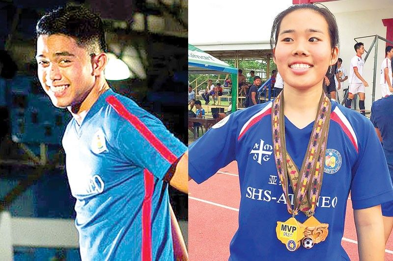 SHS-Ateneo booters Maquiling, Yoojin Kim to bring act to UAAP
