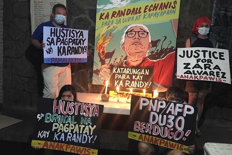 Karapatan blames state forces for activists' killings but Palace rejects tag