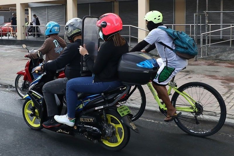 Motorcycle barriers no longer needed for backriding