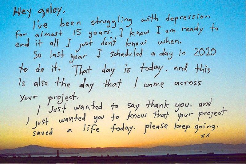 Geloy Concepcion: Portrait from a Distance