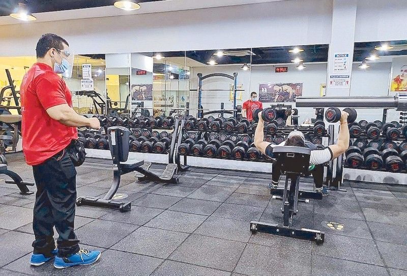 DTI protocols for gyms under the new normal